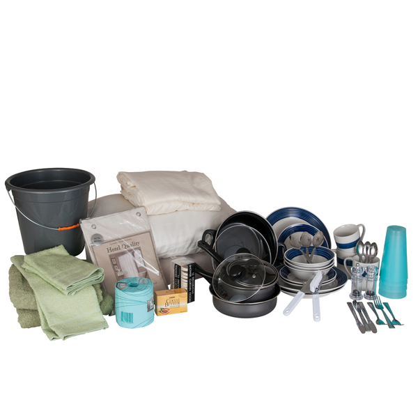 Complete kits ready to ship or customized kits to for Apartment kits